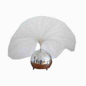 Lámpara de mesa de filamentos de vidrio, años 60