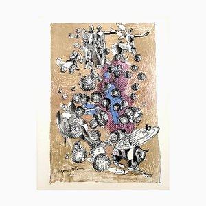 Dance of the Universe Lithograph by Jacques Villon, 1959