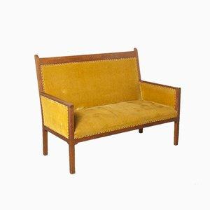 Vintage Amsterdamer Schule Sofa, 1920er