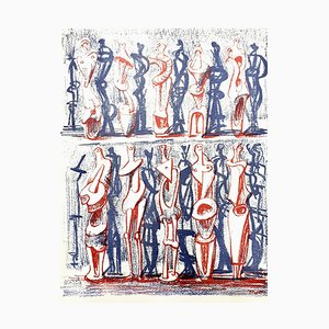 Lithograph by Henry Moore, 1951