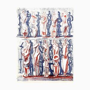 Lithographie par Henry Moore, 1951