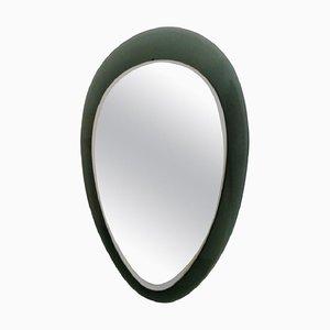 Espejo de pared con lágrimas de vidrio, años 60