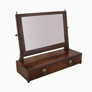 Miroir de Coiffeuse Ancienne en Acajou
