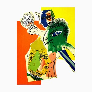 Lithografie von Marc Chagall, 1966
