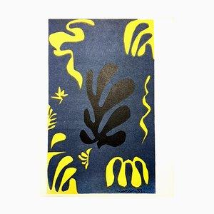 Litografía Plants de Henri Matisse, 1954
