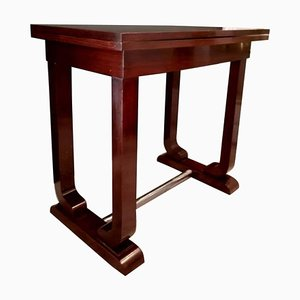 Art Deco Rosewood Game Table