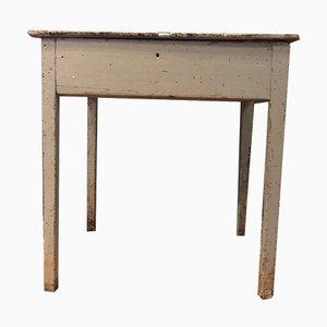 Industrieller Vintage Schultisch, 1940er