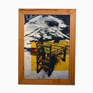 Serigraph Druck von Urano Palma, 1980er