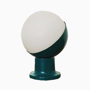 Lampe de Bureau Space Age Vintage en Verre Opalin de Kaiser Leuchten, années 60