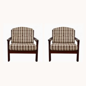 Vintage Scandinavian Lounge Chairs, 1960s, Set of 2