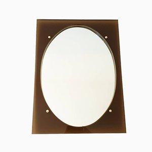 Vintage Spiegel mit Rahmen aus Plexiglas, 1970er