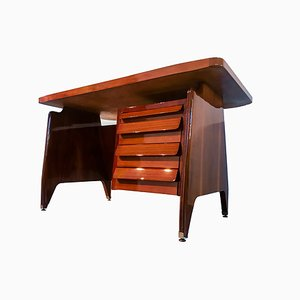 Mid-Century Italian Desk by Vittorio Dassi for Dassi Mobili Moderni, 1950s