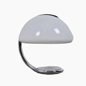 Lámpara de mesa Serpente vintage de Elio Martinelli para Martinelli Luce, años 60