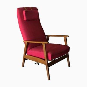 Schwedischer Sessel mit Gestell aus Teak, 1960er