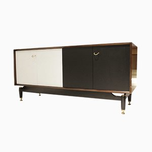 Vintage Black & White Mahogany Sideboard from G-Plan, 1958