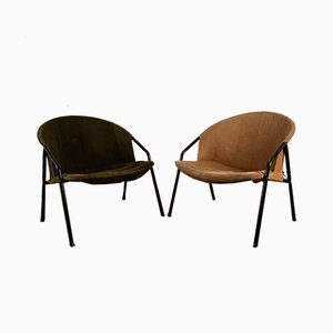 Armchairs by Erzeugnis Lusch for Lusch & Co, 1960s, Set of 2