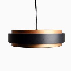 Lámpara colgante Sera Mid-Century de aluminio de Johannes Hammerborg para Fog & Mørup