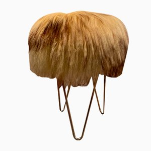 Icelandic Wool Stool, 1960s