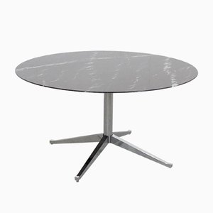 Round Marble Dining Table by Florence Knoll for Knoll Inc. / Knoll International, 1961