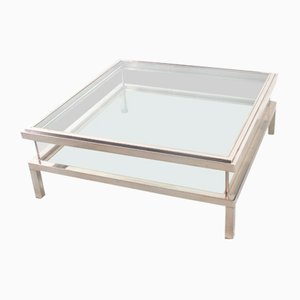 Vintage French Coffee Table from Maison Jansen