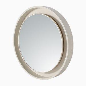Großer runder beleuchteter Spiegel, 1970er