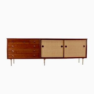 Sideboard aus Bast von William Watting für Fristho, 1960er
