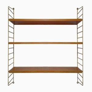 Mid-Century Pine String Shelves by Kajsa & Nils Strinning