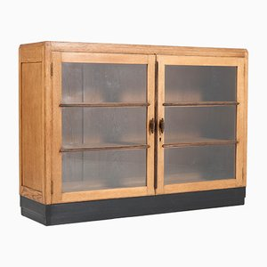 Art Deco Dutch Oak Bookcase, 1920s