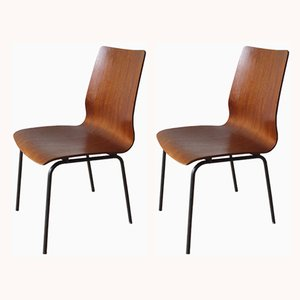 Euroika Side Chairs by Friso Kramer for Auping, 1960s, Set of 2