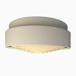 Zylindrische dänische Vintage Deckenlampe von Louis Poulsen