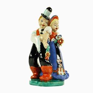 Vintage Ceramic Figurine from Komlos Keramia