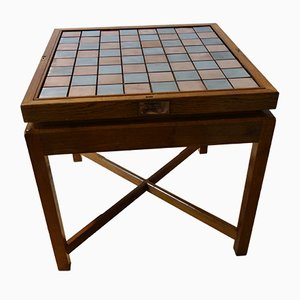 Vintage Oak Game Table from Apprentices of Siemens, 1970s