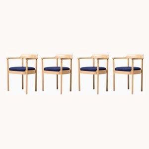 M40 Esszimmerstühle von Henning Jensen & Torben Valeur für Munch Mübler, 1968, 4er Set