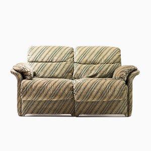 Vintage Velvet Sofa by Giovanni Offredi for Saporiti Italia