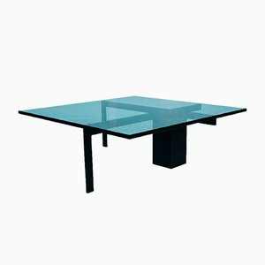 Table Basse Vintage en Verre de Metaform