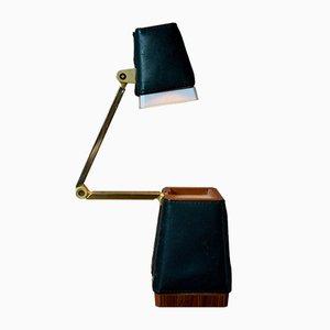 Lámpara de mesa vintage, años 50