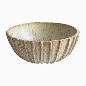Cuenco danés art déco grande de cerámica de Arne Bang, años 20
