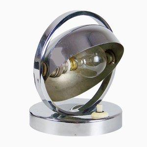 Verchromte Vintage Tischlampe, 1920er