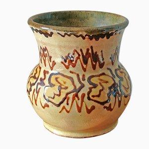 Round Patterened Vase by Alexandre kostanda, 1960s
