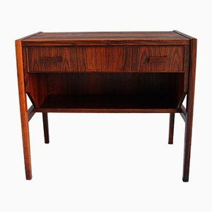 Mid-Century Danish Rosewood Side Table, 1960s