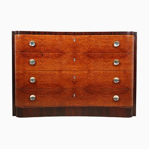 Art Deco Rosewood Chest of Drawers, 1930s