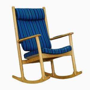 Rocking-chair Vintage en Frêne par Kurt Østervig pour Slagelse Møbelværk, Danemark, années 60
