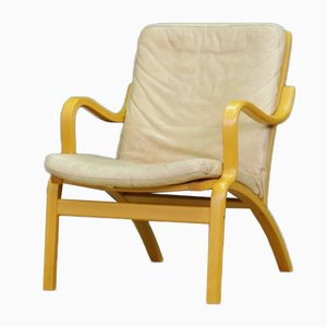 Danish Leather Armchair from Stouby, 1970s