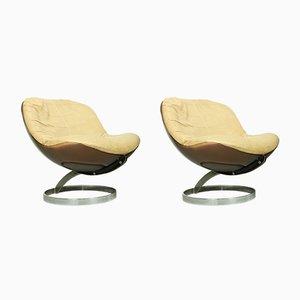 Space Age Sphere Sessel von Boris Tabacoff für Mobilier Modulaire Moderne, 1971, 2er Set
