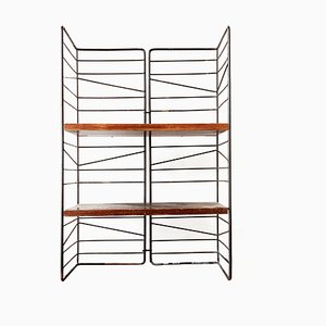 Swedish Sonja Freestanding Wire Bookshelf from Exqvisita, 1950s