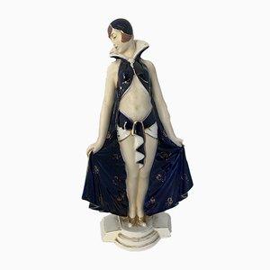 Statuetta Art Déco di Royal Dux, anni '20