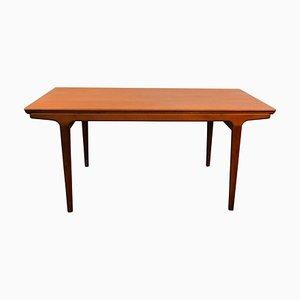 Table de Salle à Manger à Rallonge Vintage en Teck par Johannes Andersen pour Uldum Møbelfabrik, Danemark, années 60