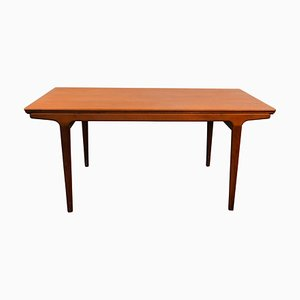 Vintage Danish Teak Extendable Dining Table by Johannes Andersen for Uldum Møbelfabrik, 1960s