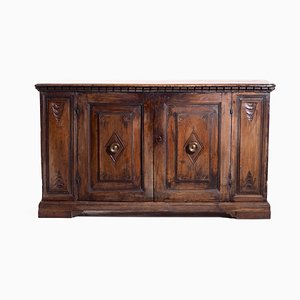Antique Walnut Sideboard, 1600s