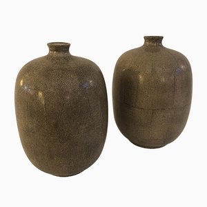 Vintage Vases, 1950s, Set of 2